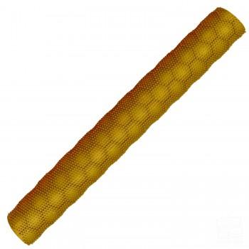 Gold Hex 3D Cricket Bat Grip