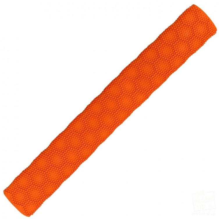 Orange Hex 3D Cricket Bat Grip