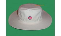 BDM Cricket Floppy Hat (White)