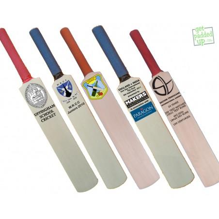 Personalised Commemorative Miniature Cricket Bat