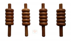 Eco Varnished Cricket Bails (Set Of Four)