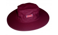 BDM Cricket Floppy Hat (Maroon)