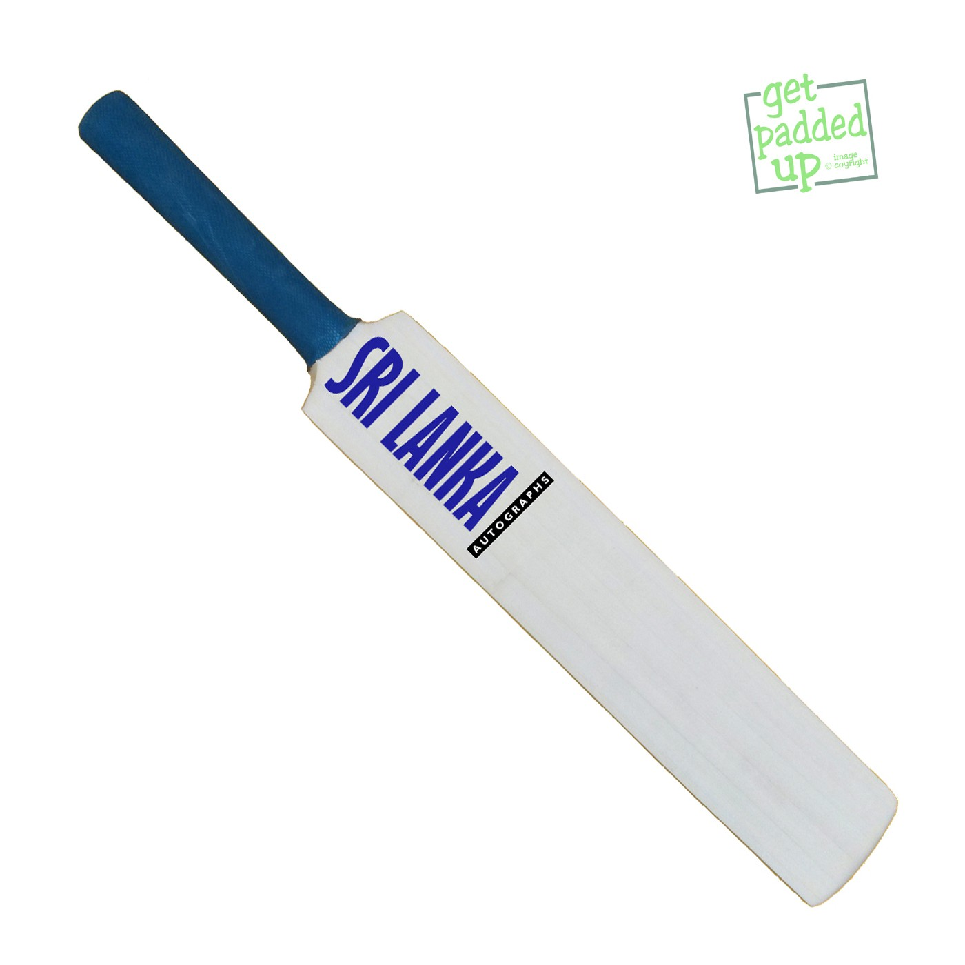 Sri Lanka Autograph Miniature Cricket Bat